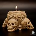 Skullator Candle Stand