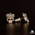 Crowned Skull Earrings